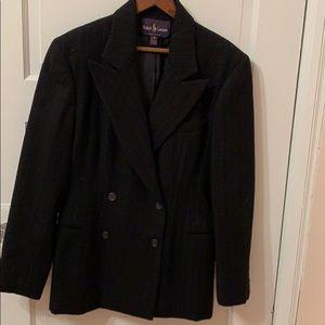 Ralph Lauren Black Jacket, Size 10